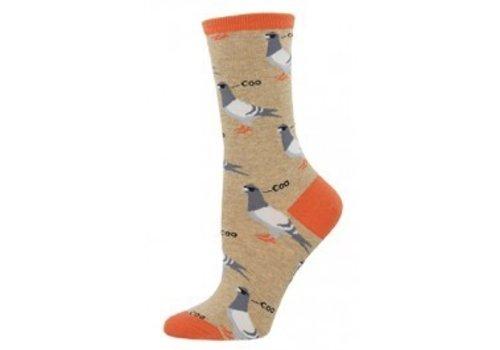 SockSmith Dats Coo' Man Crew Sock Hemp