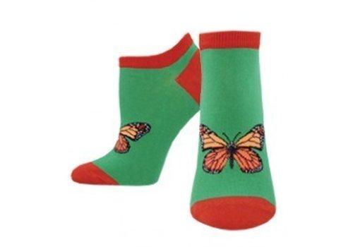 SockSmith Flutter By Butterfly Crew Sock Jungle