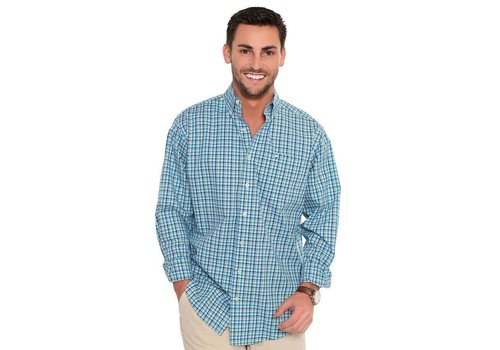 Southern Shirt Southern Shirt Co. Edgewater Woven Plaid Button Down Long Sleeve