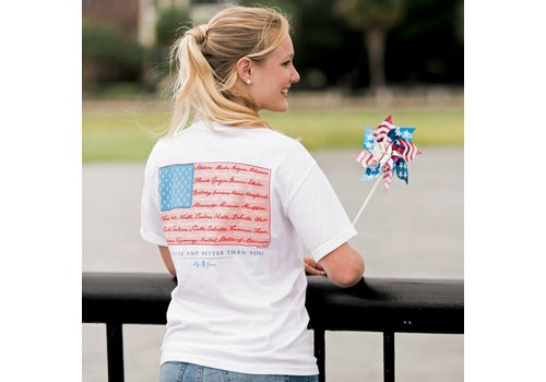 Lily Grace Lily Grace American Flag Topside Cotton