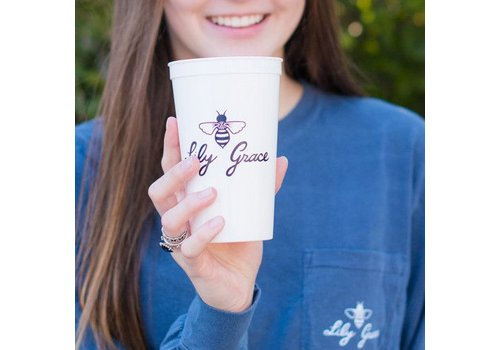 Lily Grace LG Logo Party Cup