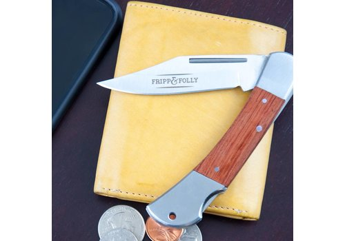 Fripp & Folly Fripp & Folly Stainless Wood Knife