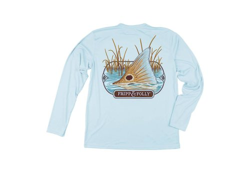 Fripp & Folly Fripp & Folly  Solar Performance Redfish Tailing Wicking Shirt