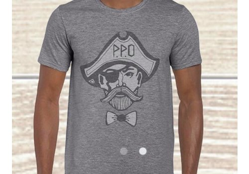 Preppy Pirate Outfitters PPO Faded Logo
