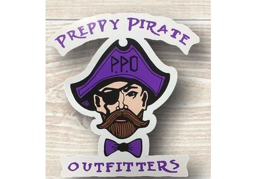 Preppy Pirate Outfitters PPO Decal