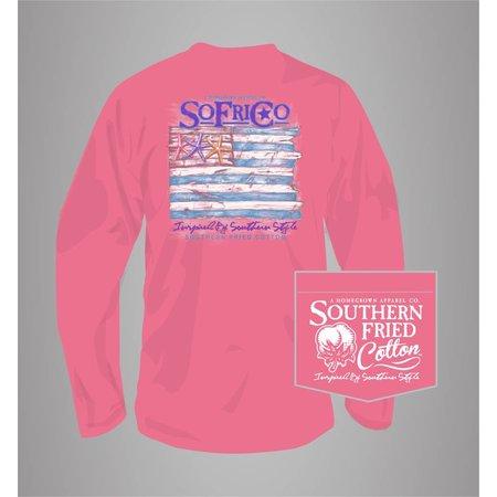 Southern Fried Cotton Coastal Pledge L/S T-Shirt