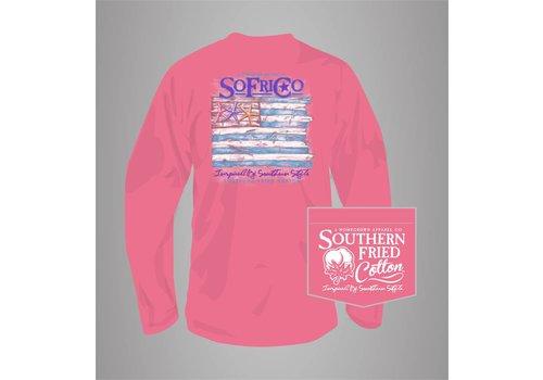Southern Fried Cotton Southern Fried Cotton Coastal Pledge L/S T-Shirt