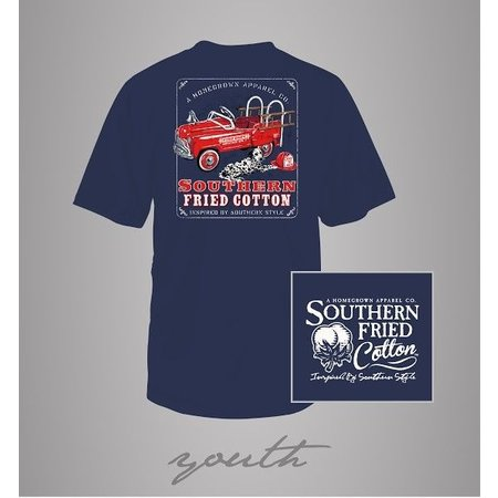 Southern Fried Cotton Lil Fire Chief Youth T-Shirt