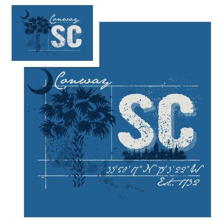 Conway Splatter Palmetto T-Shirt