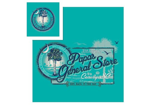 Planet Cotton Papa's General Store Waccamaw River T-Shirt