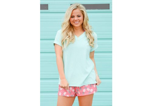 Jadelynn Brooke JLB Terry V-Neck