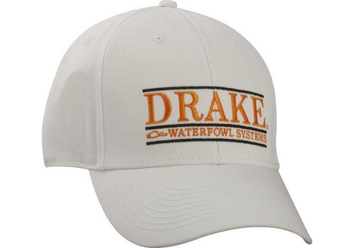 Drake Drake Hat Bar Logo Wht/Orange