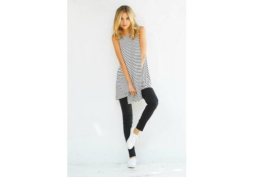 Corner Clothing Striped Sleeveless Tunic
