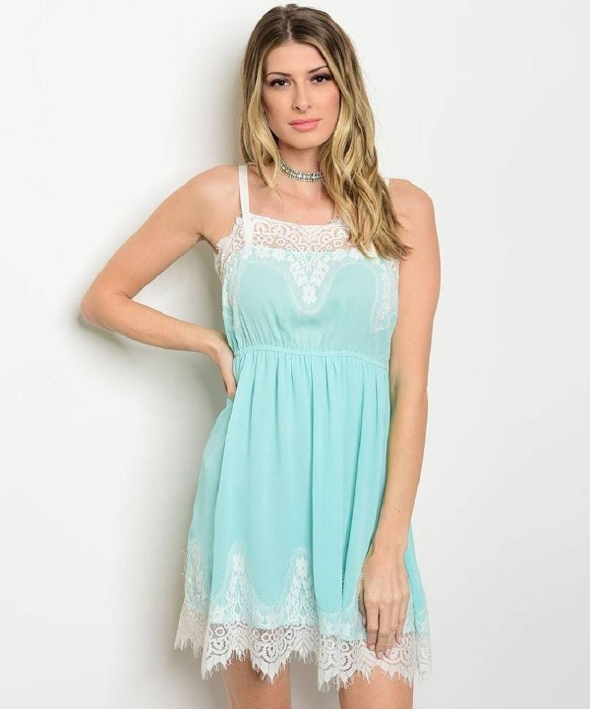 Lulus Exclusive! The Lulus Flirting with Desire Mint Blue Lace Bodycon Dress is absolutely irresistible in every single way! Alluring, eyelash lace (atop a knit liner) shapes this sultry dress with a surplice bodice, bodycon skirt, and sheer, scalloped high-low hem/5(51).