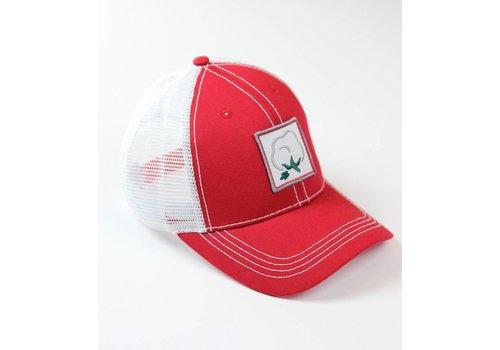 Southern Hooker Southern Hooker Cotton Logo Trucker Hat