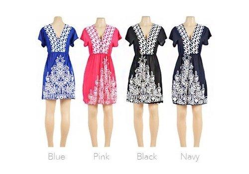 Short Patterned Dress