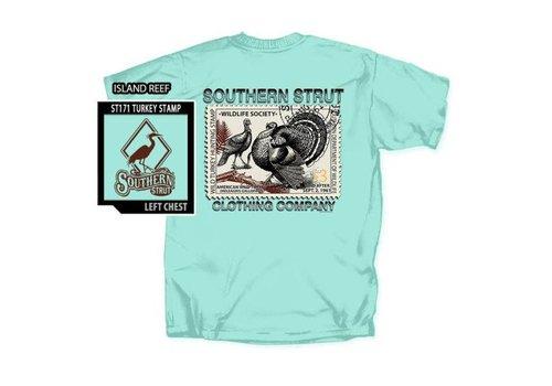 Southern Strut Southern Strut Turkey Stamp