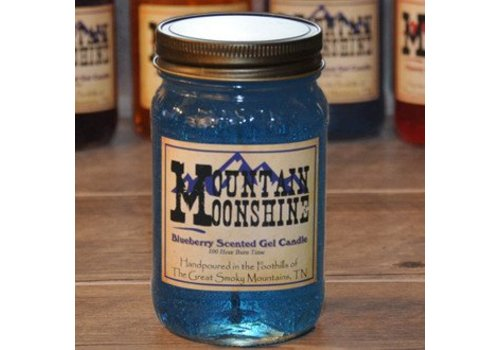 Blueberry Moonshine Gel Candle