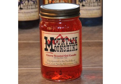 Cherry Moonshine Gel Candle