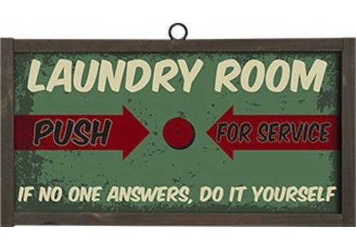 Laundry Room Button