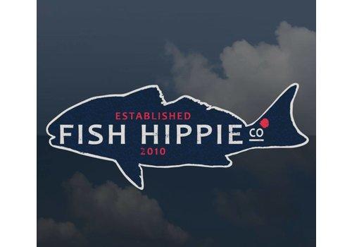 Fish Hippie Fish Hippie Sticker