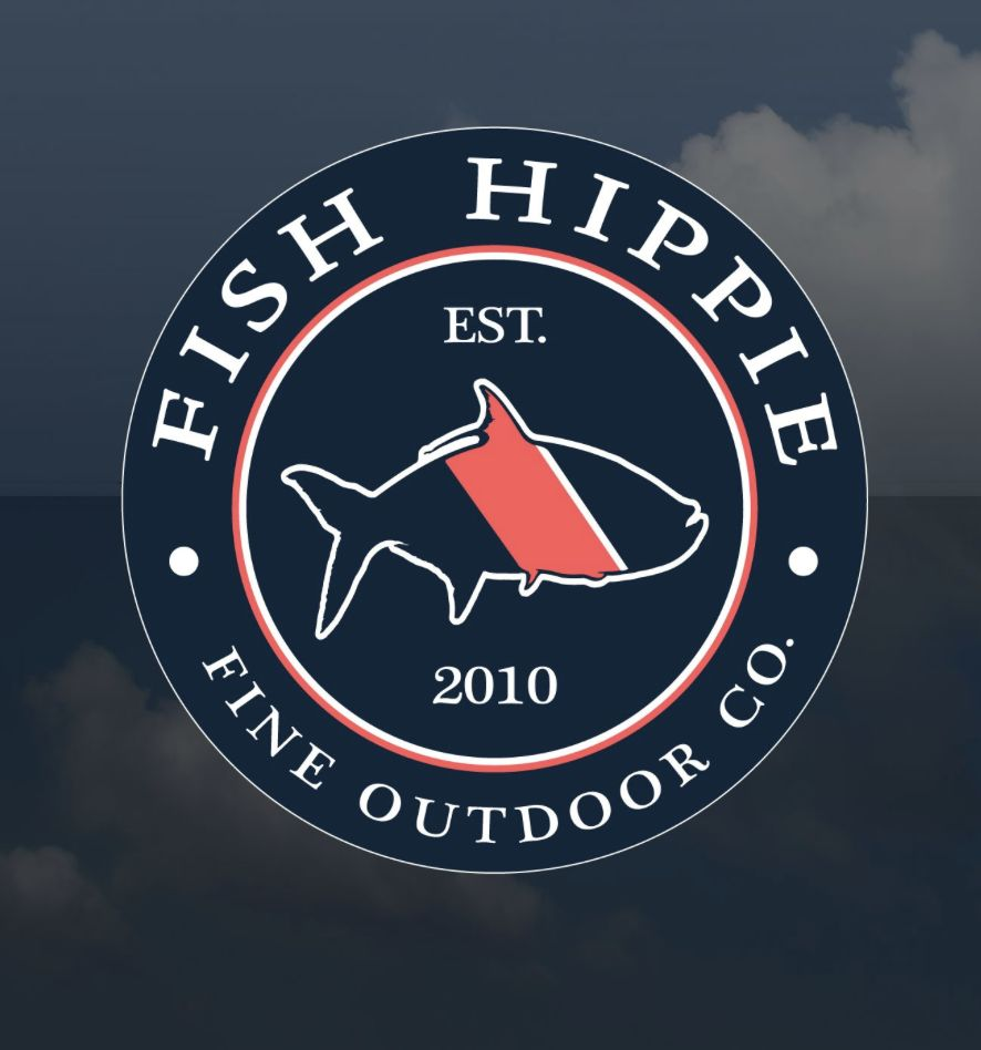 Fish hippie decals papa 39 s general store for Fish hippie sticker