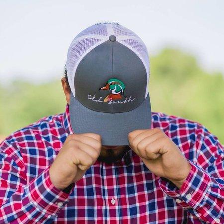 Wood Duck  Graphite Trucker Hat