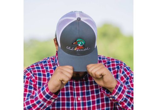 Old South Old South Wood Duck  Graphite Trucker Hat