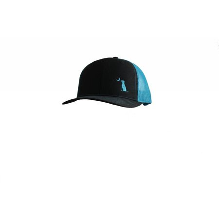 Local Boy Trucker Black / Neon Blue Hat