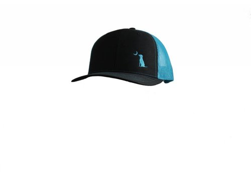 Local Boy Outfitters Local Boy Trucker Black / Neon Blue Hat