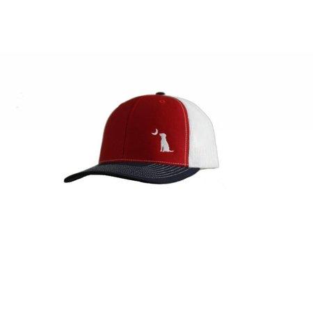 Local Boy Trucker Navy / Red Hat