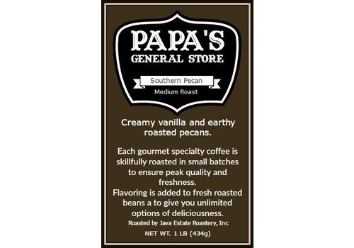 Java Estate Southern Pecan Coffee 1 lb