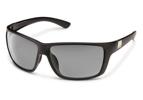 Suncloud Optics Suncloud Councilman Sunglasses: Matte Black/Polarized Gray Polycarbonate Lens