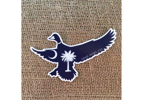 Dixie Fowl Dixie Fowl Mallard Sticker