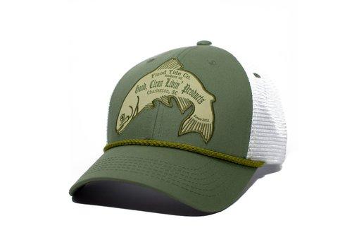 Flood Tide Co. Flood Tide Trout Trucker Hat