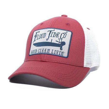 Skiff Trucker Hat Red