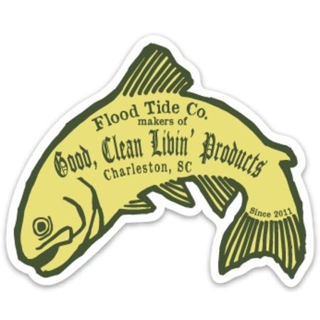 Flood Tide Sticker