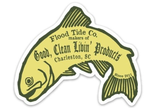 Flood Tide Co. Flood Tide Sticker
