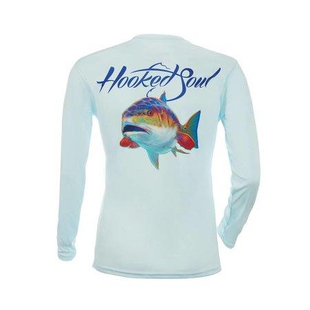 Hooked Soul Performance Redfish Artic Blue