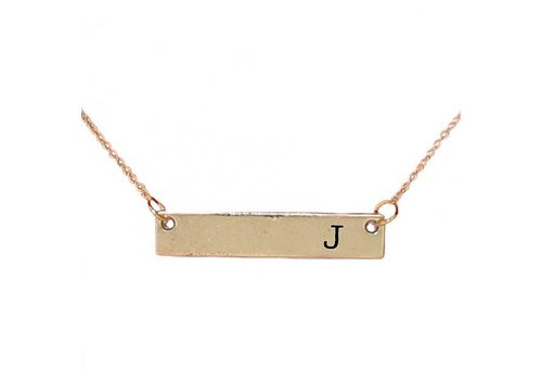 Simply Southern Simply Southern Necklace Initial J