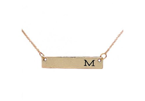 Simply Southern Simply Southern Necklace Initial M