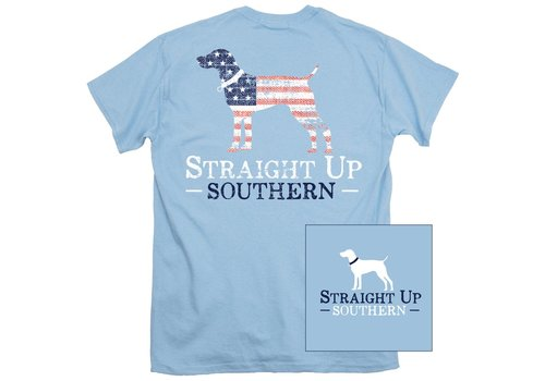 Straight Up Southern SUS American Logo