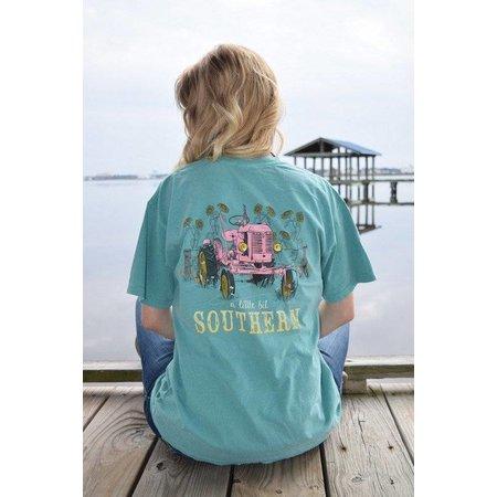 Southern Tractor Seafoam Short Sleeve T-Shirt
