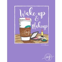 Anna Grace Wake Up Make Up Violet