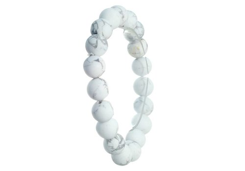 Crystal Avenue Natural 8mm Stone Bead Stretch Bracelet