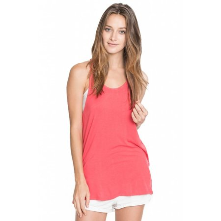 Racer Back Solid Tank Top