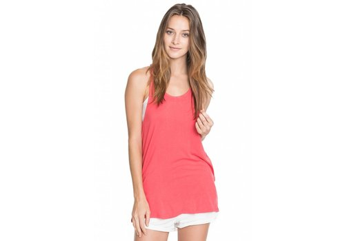 Corner Clothing Racer Back Solid Tank Top