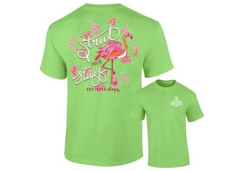 Southernology Southernology® Strut Your Stuff Flamingo T Shirt