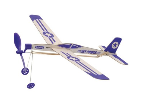 Schylling Sky Power Rubber Band Airplane