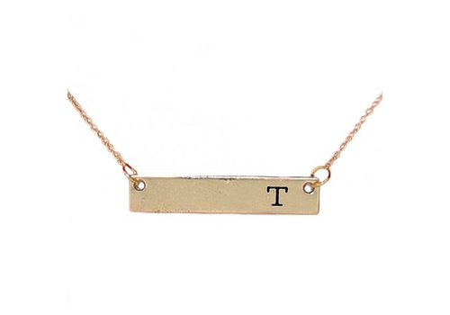 Simply Southern Simply Southern Necklace Initial T